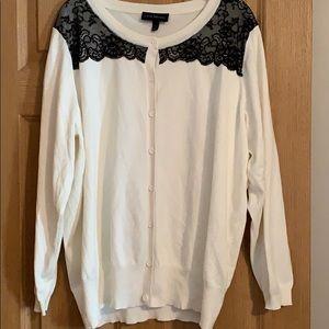 Lane Bryant Lace Sweater